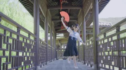 【小豆蔻儿】【寄明月】 没天赋的舞蹈废第一次跳舞是什么样子?