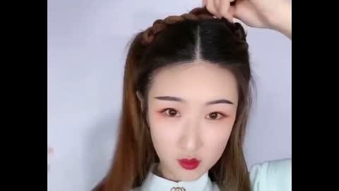 【汉服发型】 超级美艳的明制汉服发型教程,手残党必会
