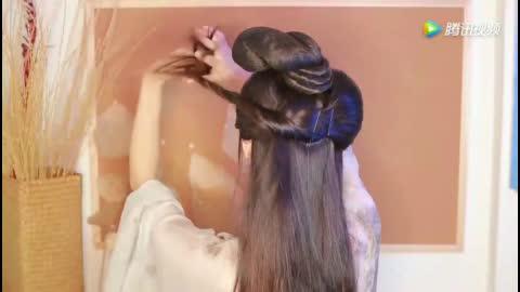 【汉服发型】古风新造型,简单又惊艳的汉服发型教程