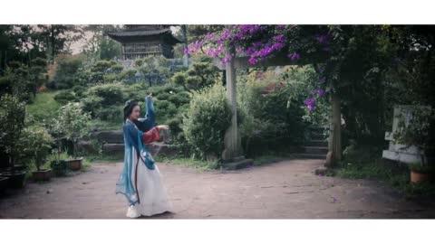 【暮子酱】汉服舞蹈【腐草为萤】翅膀舞蹈版